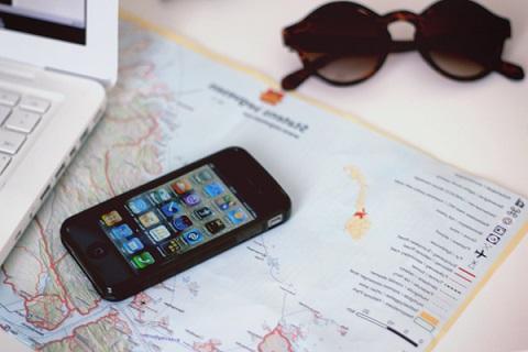 Viaggiare con l'i phone